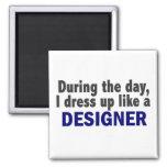 Diseñador durante el día iman