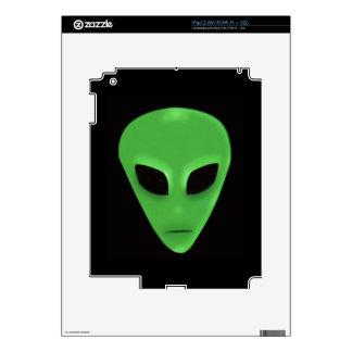 Diseñador extranjero verde fantasmagórico de la fa skin para el iPad 2