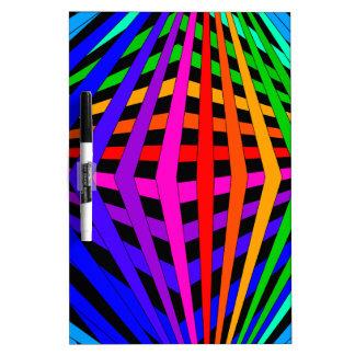 Diseñador geométrico 1 moderno del espectro del ar pizarra blanca