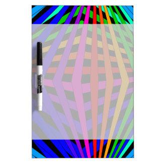 Diseñador geométrico 1b moderno del espectro del tablero blanco