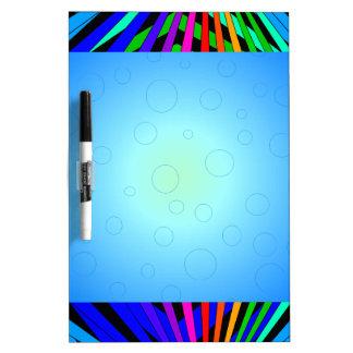 Diseñador geométrico 1c moderno del espectro del pizarras blancas de calidad