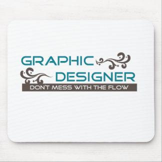 Diseñador gráfico tapetes de ratones
