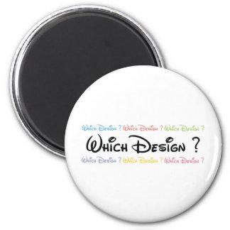 Diseñador Imán Redondo 5 Cm