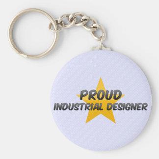 Diseñador industrial orgulloso llaveros