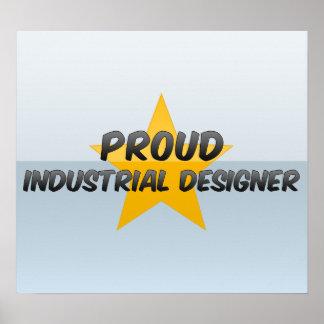 Diseñador industrial orgulloso impresiones