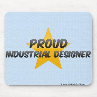 Diseñador industrial orgulloso alfombrillas de ratón