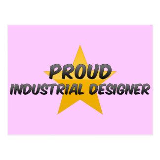 Diseñador industrial orgulloso postal