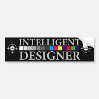 Diseñador inteligente pegatina para auto