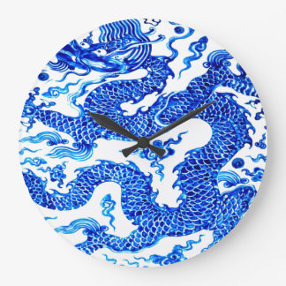 Diseñador moderno de Acryllic del florero chino Reloj Redondo Grande