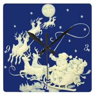 Diseñador moderno de Acryllic del navidad de Papá  Relojes