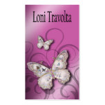 Diseñador multiusos de las mariposas bonitas plantillas de tarjetas de visita