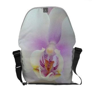 """Diseñador """"orquídea blanca"""" Hacia fuera-y-Sobre bo Bolsas De Mensajeria"""