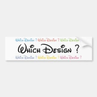 Diseñador Pegatina Para Auto