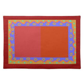 Diseñador primitivo colorido > Placemats Manteles