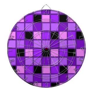 Diseñador púrpura del Harlequin de la lavanda del Tabla Dardos