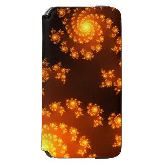 Diseñador Salvaje-y-Loco del arte del fractal Funda Cartera Para iPhone 6 Watson