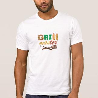 Diseñador T de GRILL MASTER Camisetas