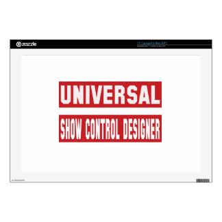 Diseñador universal del control de la demostración 43,2cm portátil calcomanías