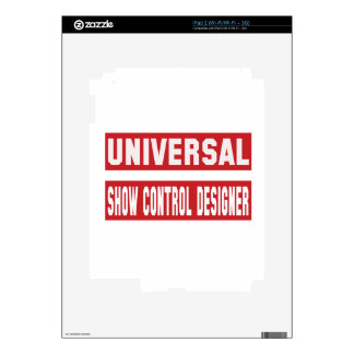 Diseñador universal del control de la demostración iPad 2 skins