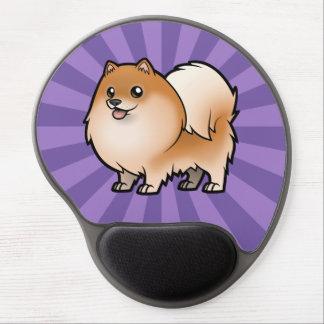 Diseñe a su propio mascota alfombrillas de raton con gel