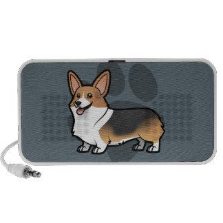 Diseñe a su propio mascota laptop altavoces