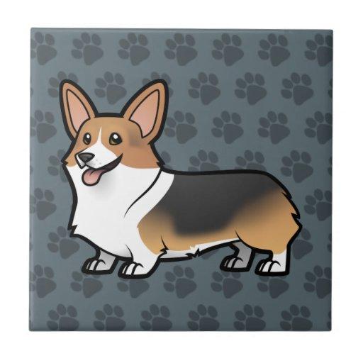 Diseñe a su propio mascota azulejos cerámicos