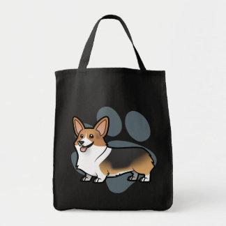 Diseñe a su propio mascota bolsa tela para la compra