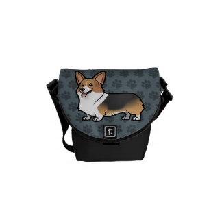 Diseñe a su propio mascota bolsas de mensajeria
