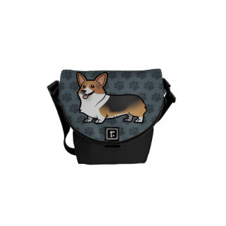 Diseñe a su propio mascota bolsas de mensajería