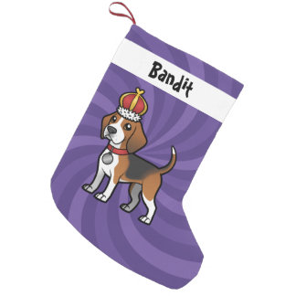 Diseñe a su propio mascota calcetín de navidad pequeño