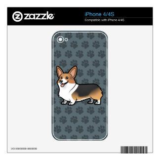 Diseñe a su propio mascota calcomanía para iPhone 4