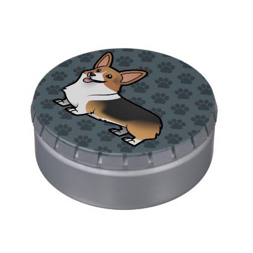 Diseñe a su propio mascota latas de caramelos