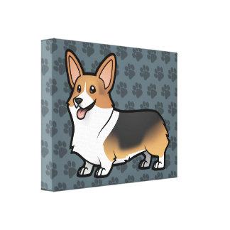 Diseñe a su propio mascota lienzo envuelto para galerias