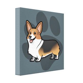 Diseñe a su propio mascota impresión en tela