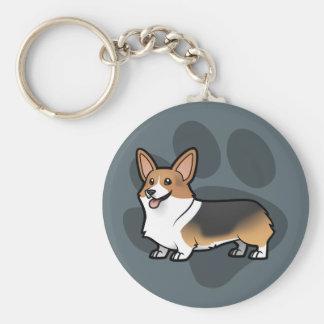 Diseñe a su propio mascota llavero personalizado