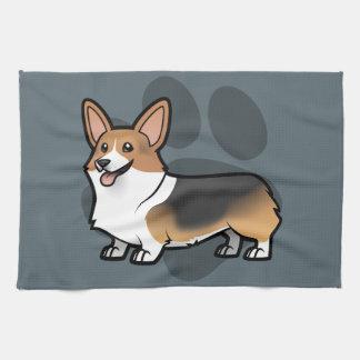 Diseñe a su propio mascota toallas de mano