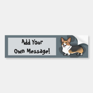 Diseñe a su propio mascota pegatina para auto