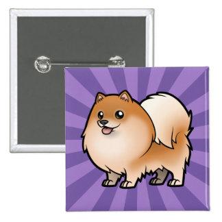 Diseñe a su propio mascota pins