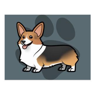 Diseñe a su propio mascota postales