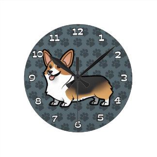 Diseñe a su propio mascota reloj de pared