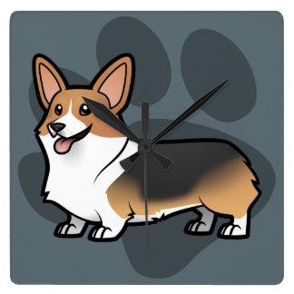 Diseñe a su propio mascota relojes de pared