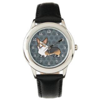 Diseñe a su propio mascota relojes de pulsera