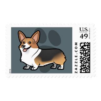 Diseñe a su propio mascota sello postal