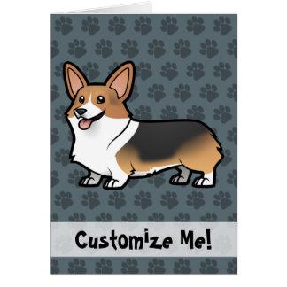 Diseñe a su propio mascota tarjeta de felicitación