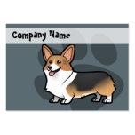 Diseñe a su propio mascota tarjetas de visita grandes