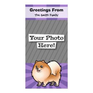 Diseñe a su propio mascota tarjetas fotográficas personalizadas