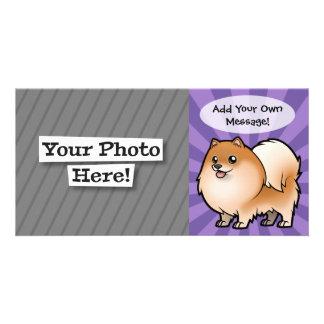 Diseñe a su propio mascota tarjeta fotográfica personalizada