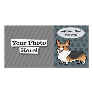Diseñe a su propio mascota tarjetas personales