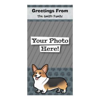 Diseñe a su propio mascota tarjetas fotograficas