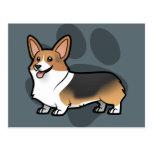 Diseñe a su propio mascota tarjeta postal